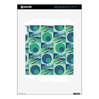 1One Imagination place pattern Decals For iPad 3