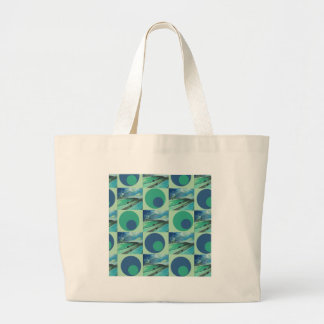 1One Imagination place pattern Large Tote Bag