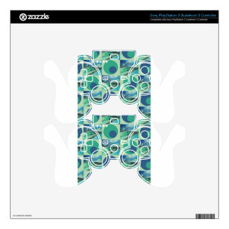 1One Imagination place pattern Skin For PS3 Controller