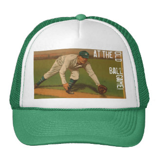 1p. Please.... Take Me Out   To The Old Ball Game! Trucker Hat