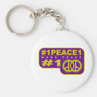 #1peace1 twitter peace maker T-shirts Key Chain