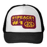 #1peace1 twitter T-shirts Trucker Hat
