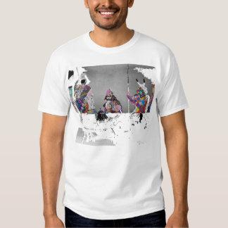 """1PEACE """"3samurai """" Camisas"""