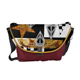 "1PEACE ""ANCIENT CODE"" smARTbag Messenger Bag"