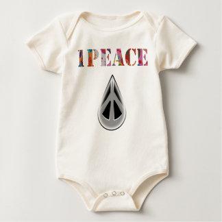 "1PEACE ""babydrop"" Baby Bodysuit"