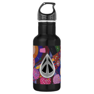 """1PEACE """"BEing"""" Stainless Steel Water Bottle"""