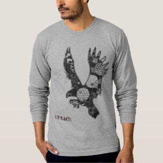"""1PEACE """"ekgrey"""" T-Shirt"""