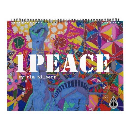 1PEACE GIANT 24 month CALANDAR (1/2011-12/2012) Calendar