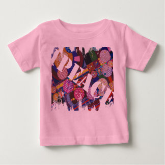 "1PEACE ""tiny BEing BIG splash!"" Baby T-Shirt"