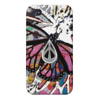 1PEACE tiny soft wings iPhone 4 Cases