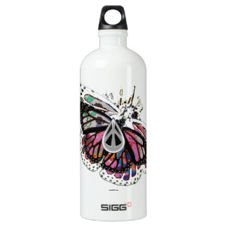 """1PEACE """"tiny soft wings """" SIGG Traveler 1.0L Water Bottle"""