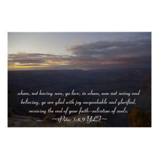 1Peter 1:8,9