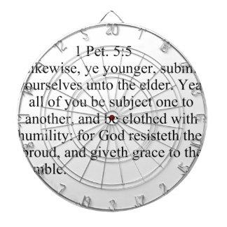 1Peter 5:5 Dart Boards