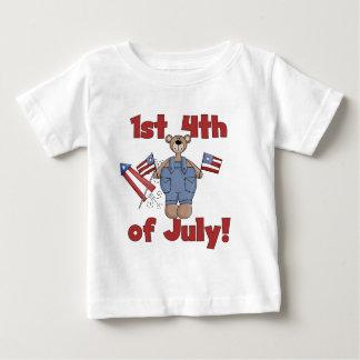 1r 4to de las camisetas y de los regalos de julio playera
