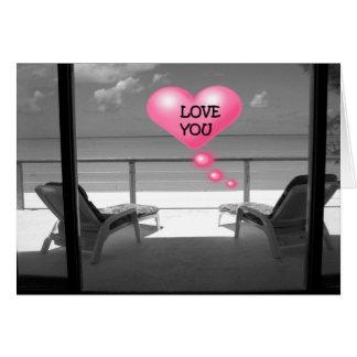 1r ANIVERSARIO LOVE/PASSION/THANKFULNESS A USTED Tarjeta De Felicitación