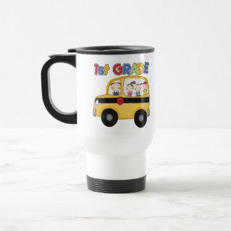 1r Autobús de escuela primaria Tazas De Café