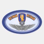 1r Aviador del amo de los Bde de los Avn Colcomanias Ovaladas Personalizadas