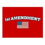 1r Bandera americana de la enmienda Postal