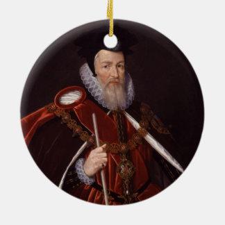 1r barón Burghley de Guillermo Cecil Ornamentos Para Reyes Magos