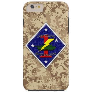 1r Batallón del tanque - 1ra División de Marina Funda De iPhone 6 Plus Tough