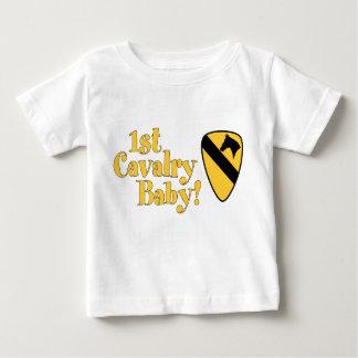 1r ¡Bebé de la caballería! Playera De Bebé