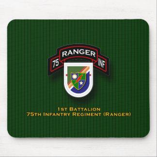 1r Bn, 75.a infantería - guardabosques flash y vol Alfombrillas De Raton