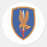 1r Brigada de aviación Etiqueta Redonda