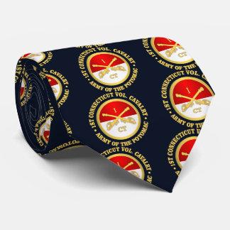 1r Caballería de Connecticut (rd) Corbatas