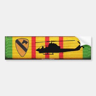 1r Caballería Div. Pegatina para el parachoques de Pegatina Para Coche