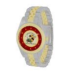 1r Caballería Vietnam [cañonera de Huey] Relojes De Pulsera