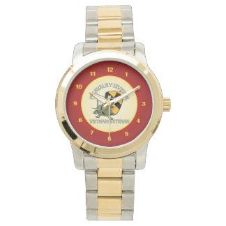 1r Caballería Vietnam [cañonera de Huey] Relojes