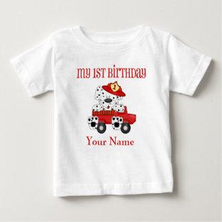 1r Camisa personalizada bombero de Dalmation del