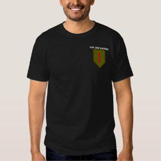 1r Camiseta de la división de infantería Poleras