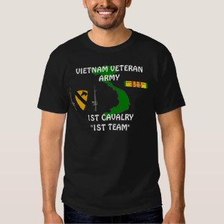 """1r Camiseta de Vietnam del """"1r equipo"""" de la Camisas"""