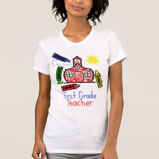 1r Camiseta del profesor del grado - escuela y
