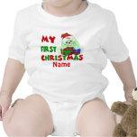 1r Camiseta personalizada conejito del navidad