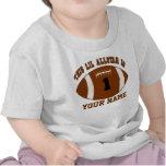 1r Camiseta personalizada fútbol del muchacho del