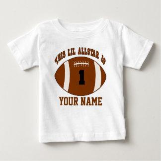 1r Camiseta personalizada fútbol del muchacho del Playera