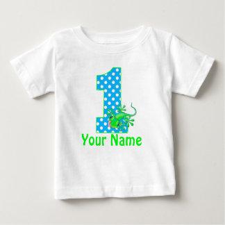 1r Camiseta personalizada Gecko del muchacho del Playeras