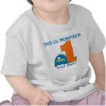1r Camiseta personalizada monstruo del cumpleaños