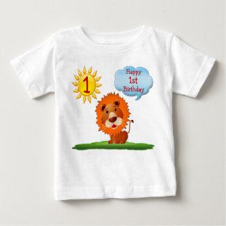 1r Camisetas del cumpleaños para los muchachos con Remera