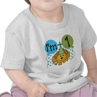 1r Camisetas y regalos del cumpleaños del león
