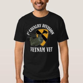 1r Cav Vietnam CH-47 Remera