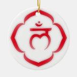 1r Chakra (el chakra de la raíz) Ornamentos De Navidad