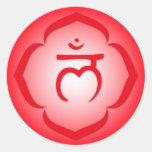 1r Chakra - Muladhara Etiquetas Redondas