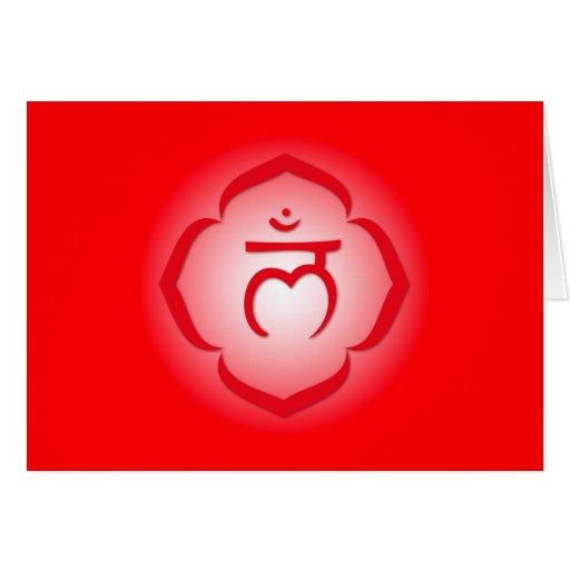 1r Chakra - Muladhara Tarjeta De Felicitación