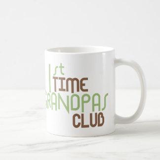 1r Club de los abuelos del tiempo (verde) Taza