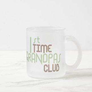 1r Club de los abuelos del tiempo (verde) Taza De Cristal
