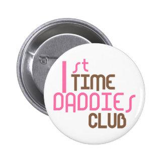 1r Club de los papás del tiempo (rosa) Pins