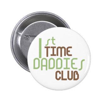 1r Club de los papás del tiempo (verde) Pins